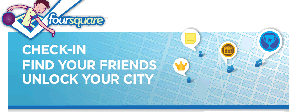 Foursquare logo and banner