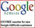 Free £75 Adwords Voucher