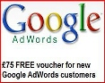 Free £75 Adwords Voucher