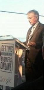 Peter Robinson - Getting Northern Irish Businesses Online
