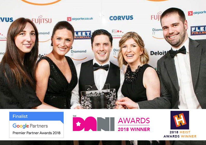 Search Scientist multi-award winning digital agency belfast