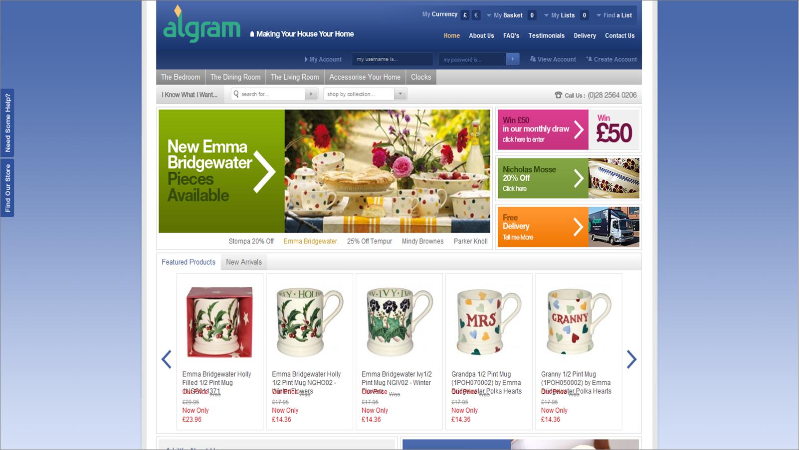 algram.co.uk screenshot