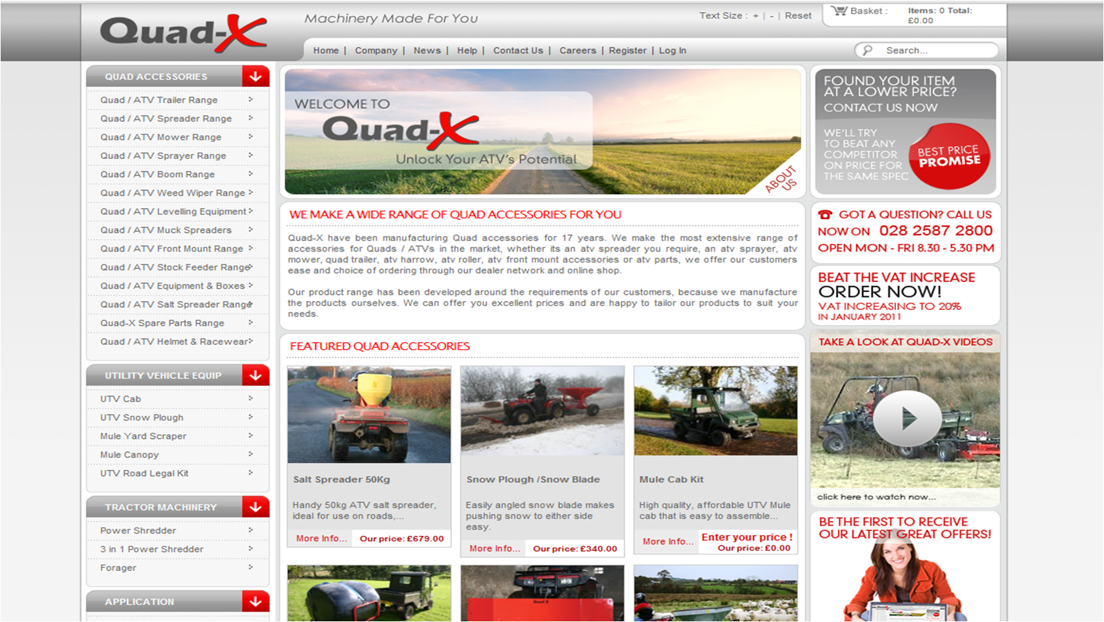 quad-x.com screenshot