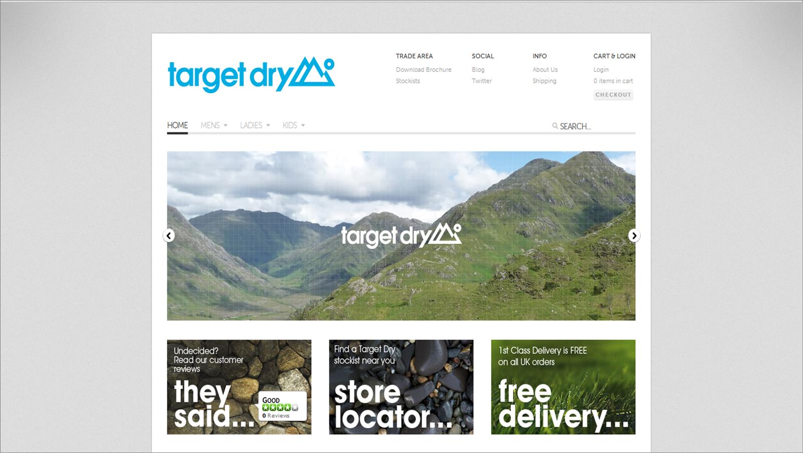 targetdry.com screenshot