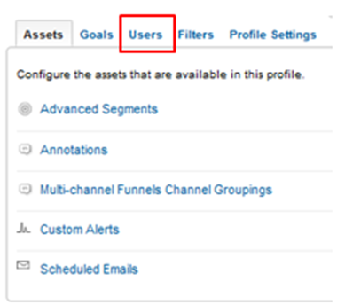 Google Analytics Grant Access to New User New Version
