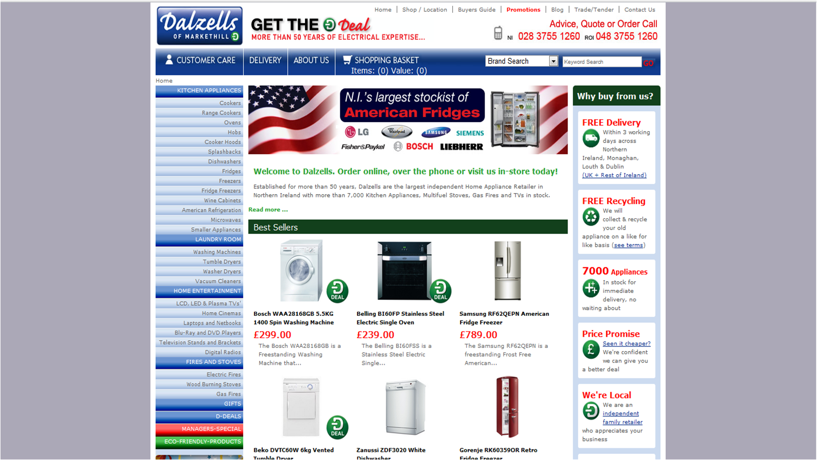 Dalzells of Markethill   ArmaghElectrical.com