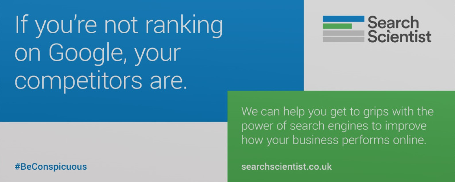 if you're not ranking on google competitors are seo billboard