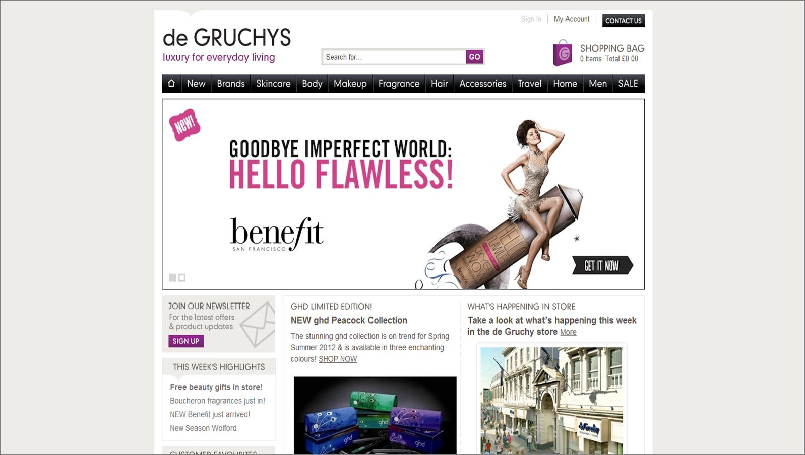 degruchys.com screenshot