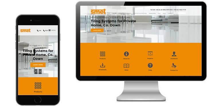 smet website design