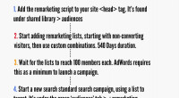 How to set up an RLSA campaign