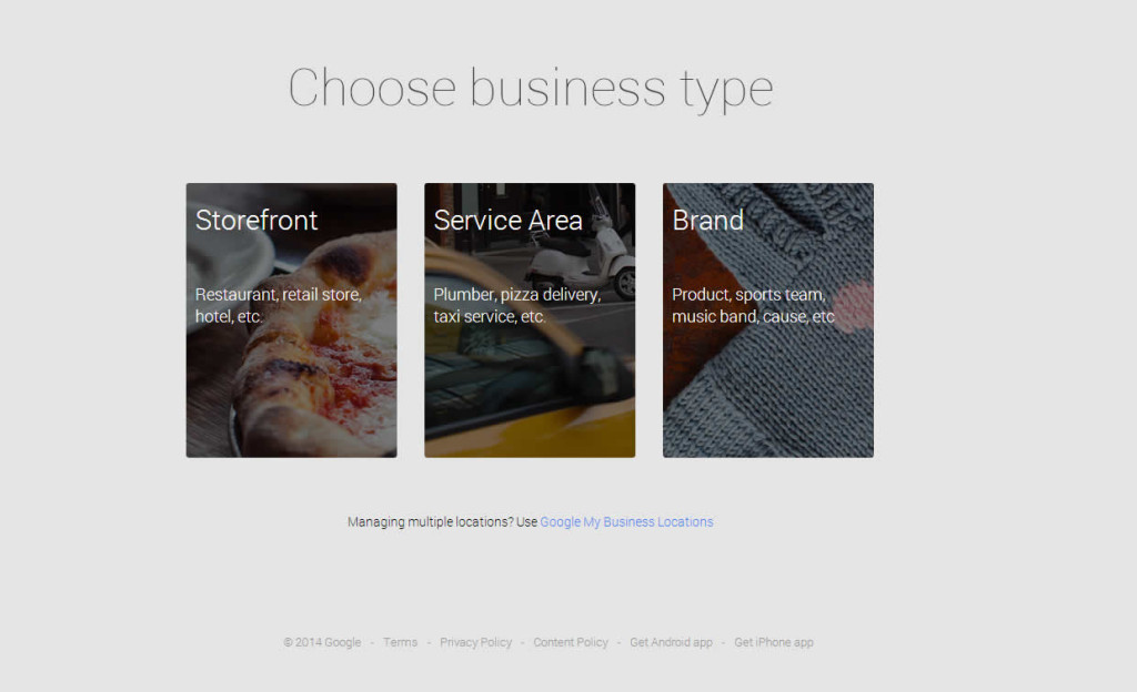 Choose Your Business snapshot