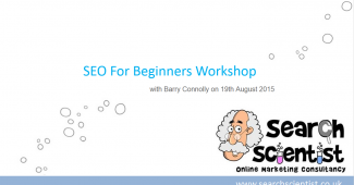 SEO Workshop August