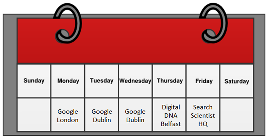 Google Dublin London Accelerate Digital DNA