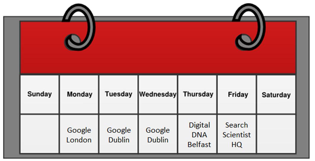 Google Dublin London Accelerate Digital DNA