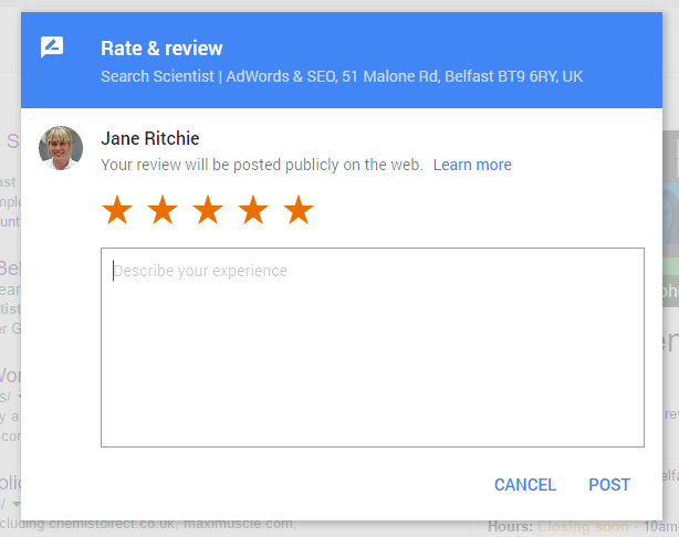 Google My Business Reviews | Facebook Reviews