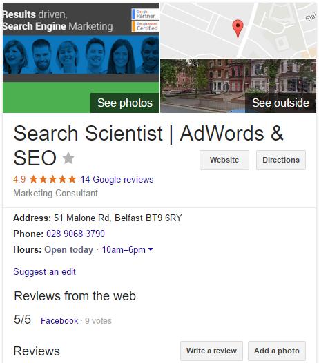 Google My Business Reviews | Facebook Reviews