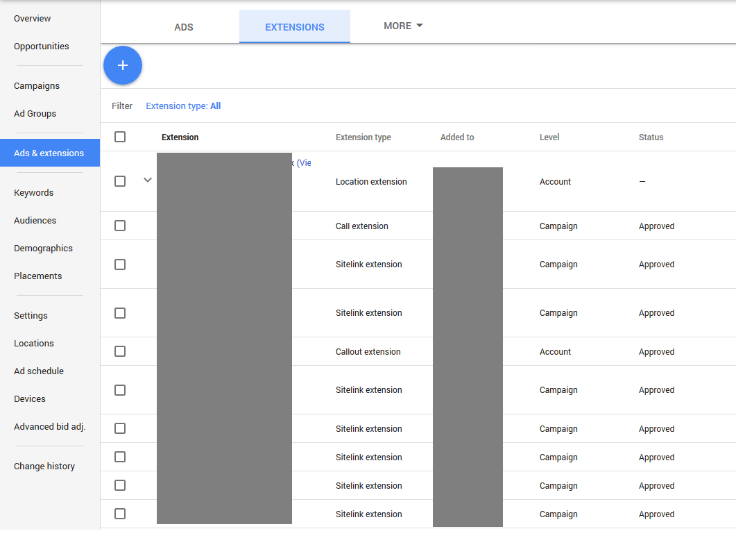 how to get out of adwords express and into adwords