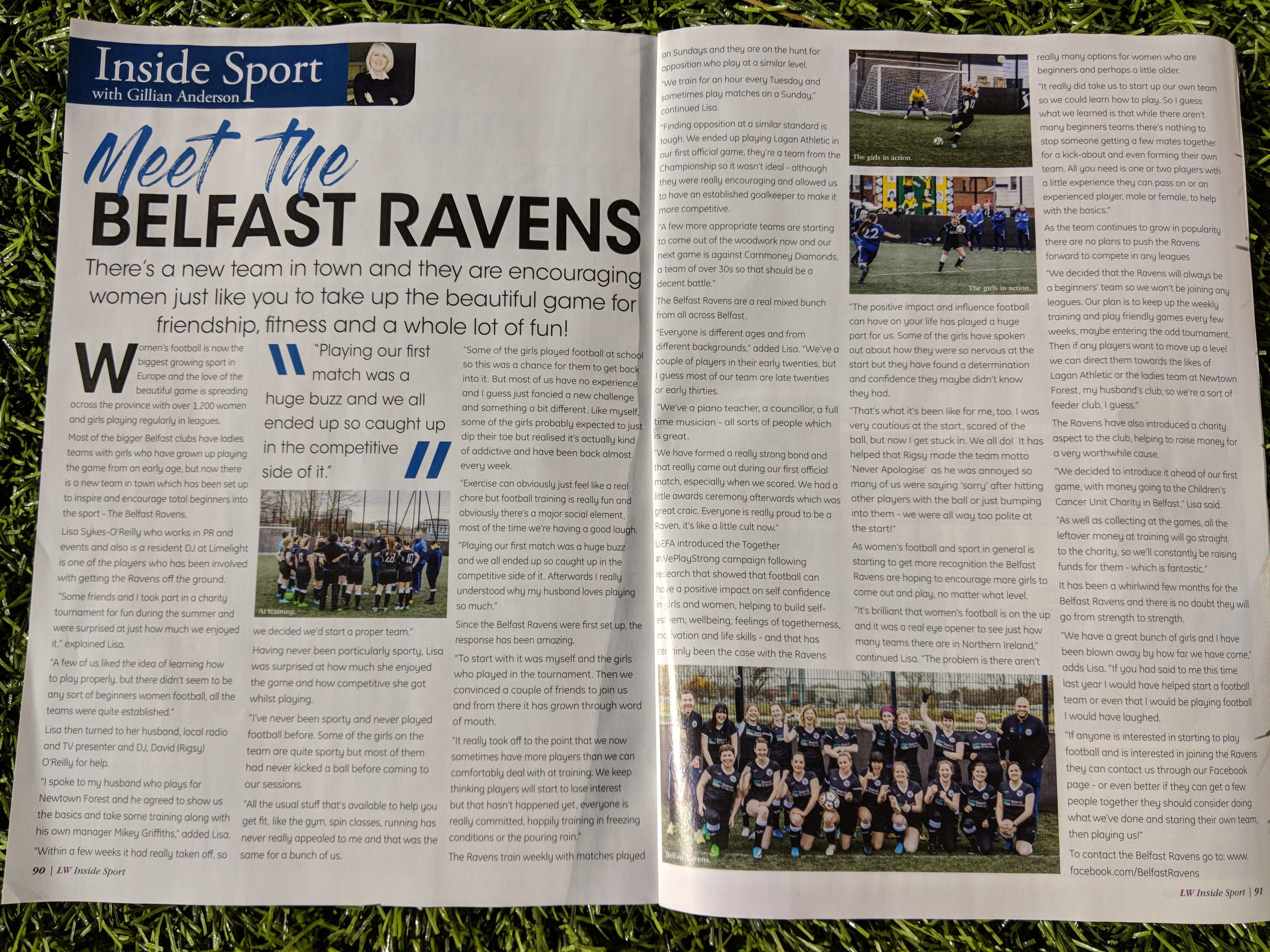 Belfast Ravens Press Coverage